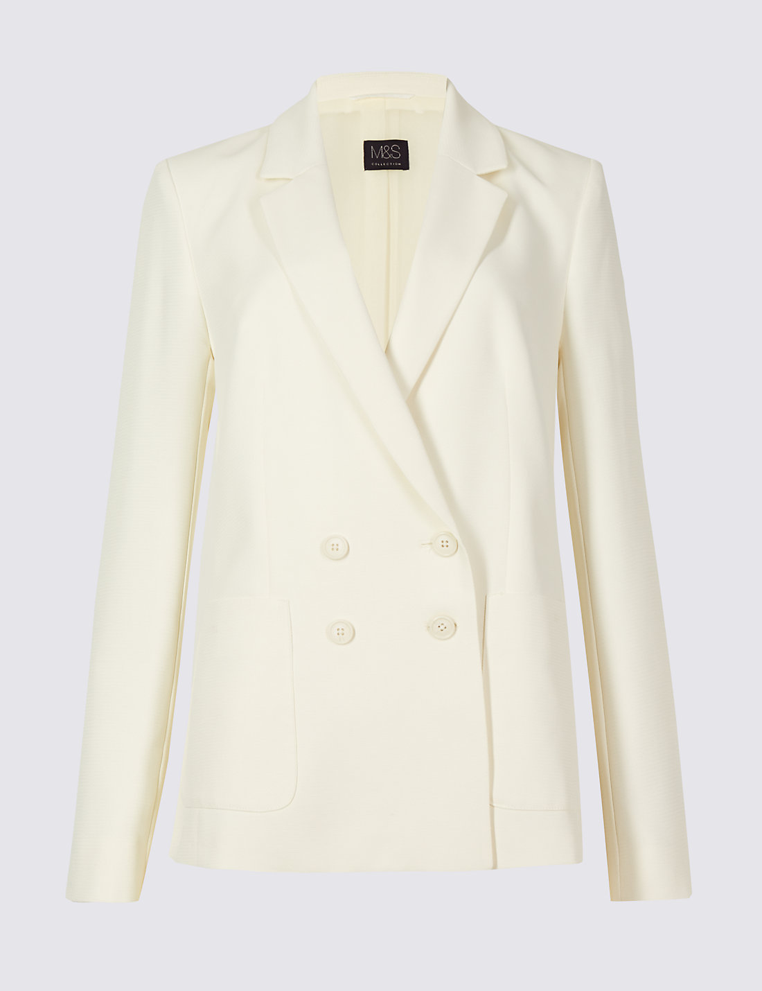 M&S double breasted jacket