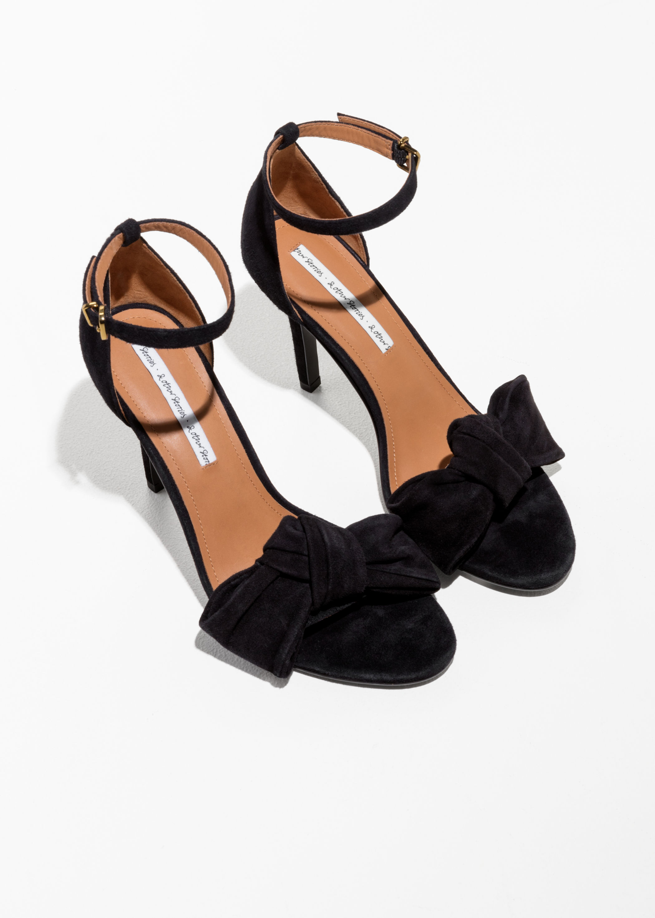 & Other Stories ankle strap ballerinas