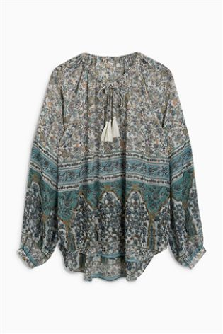 Next embellished blouse