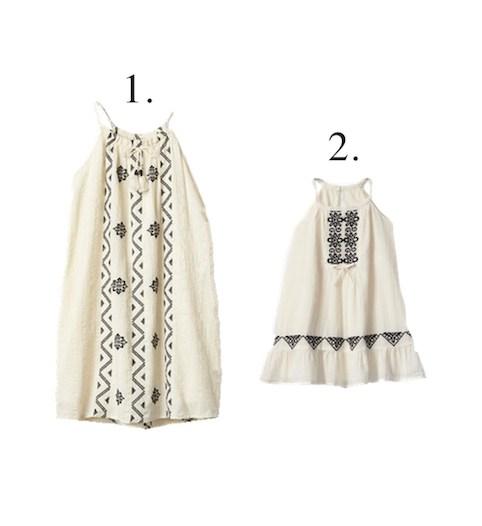 Girls Gap Matching Summer Dresses Little Spree