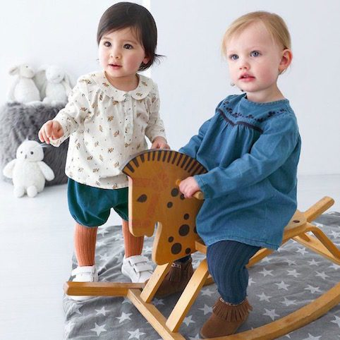La Redoute Discounted Stylish Baby Clothes And Shoes