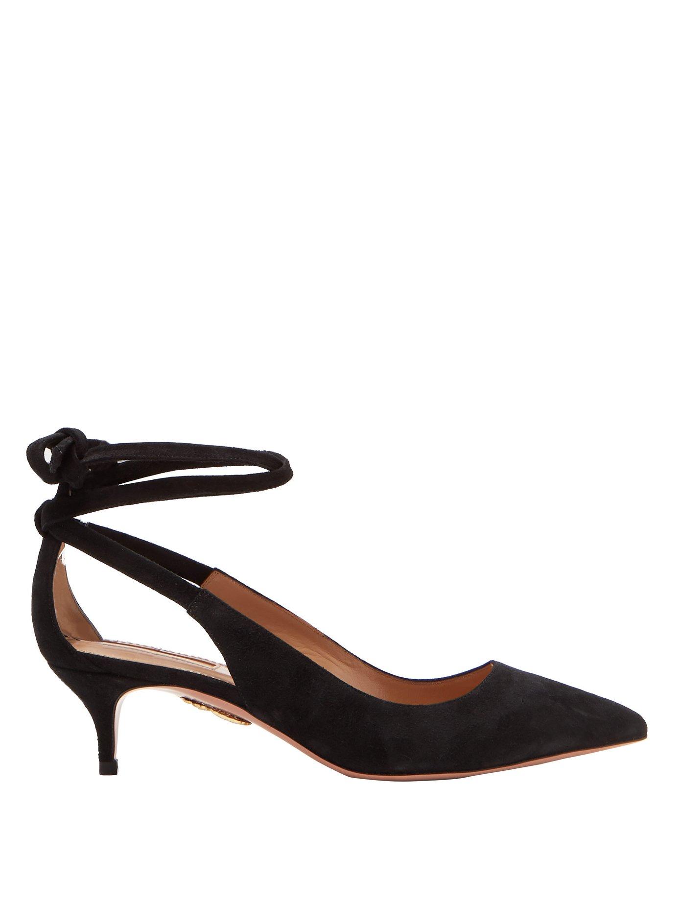 Aquazurra suede shoes