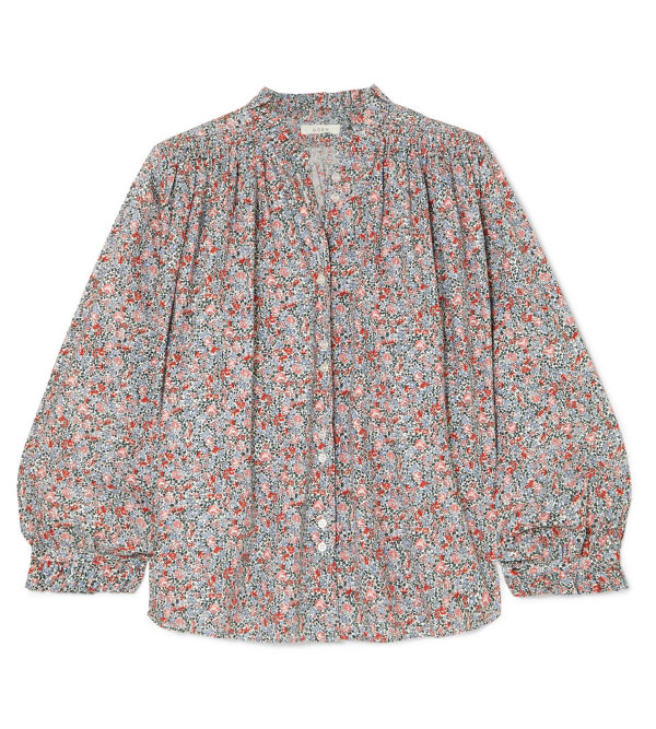 Doen gathered blouse